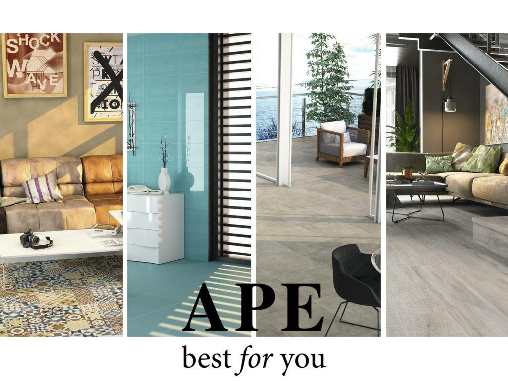 APE újdonság, burkolatcentrum, csempe, design